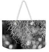 Spanish Moss Monochrome Weekender Tote Bag