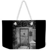 Spanish Renaissance Courtyard Door Weekender Tote Bag