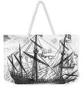 Spanish Ship, C1595 Weekender Tote Bag