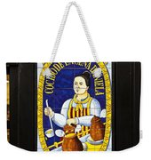 Spanish Tiles Weekender Tote Bag