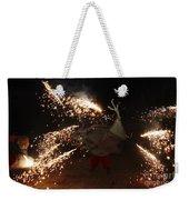Sparkling Dragon Weekender Tote Bag