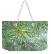 Sparkly Pine Weekender Tote Bag