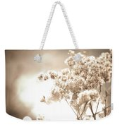 Sparkly Weeds In Sepia Weekender Tote Bag