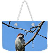 Sparrow On The Branch Weekender Tote Bag