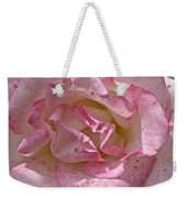 Spattered Pink Promises Weekender Tote Bag