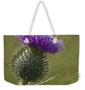 Spear Thistle With Texture Weekender Tote Bag