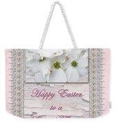 Special Friend Easter Card - Flowering Dogwood Weekender Tote Bag