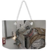 Specialist Takes A Photograph Weekender Tote Bag