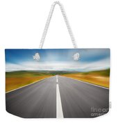 Speedyway Weekender Tote Bag by Carlos Caetano