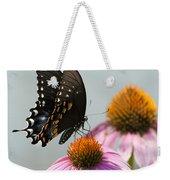 Spicebush Butterfly On Echinacea Weekender Tote Bag