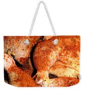 Spicy Chicken Weekender Tote Bag