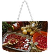 Spicy Still Life Weekender Tote Bag