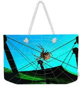 Spider On The Olympic Roof Weekender Tote Bag