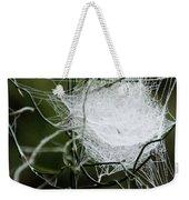 Spider Web Basket Weekender Tote Bag