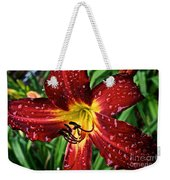 Spiderman The Day Lily Weekender Tote Bag