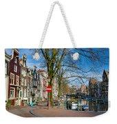 Spiegelgracht 36. Amsterdam Weekender Tote Bag