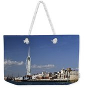 Spinnaker Tower And Round Tower Portsmouth Weekender Tote Bag