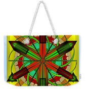 Spinning Wheel Weekender Tote Bag
