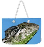 Spiny Chameleon Chamaeleo Verrucosus Weekender Tote Bag