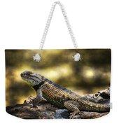 Spiny Lizard Weekender Tote Bag