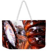 Spiral Dimension Abstract Weekender Tote Bag