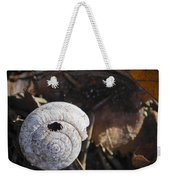 Spiral Shell Game Weekender Tote Bag