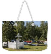 Spirit Houses Of Eklutna Weekender Tote Bag