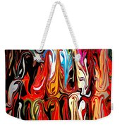 Spirit Of Mardi Gras Weekender Tote Bag by Carol Groenen
