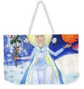 Spirit Of Winter Weekender Tote Bag