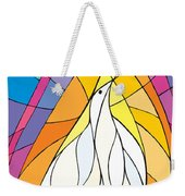 Spirit Rests As A Dove Weekender Tote Bag