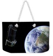 Spitzer Departing The Earth Weekender Tote Bag