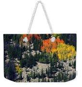 Splashes Of Fall Weekender Tote Bag