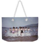 Splashing Into Lake George Weekender Tote Bag
