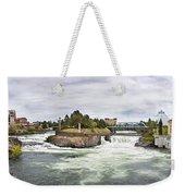 Spokane Falls From The Lincoln Street Bridge Weekender Tote Bag
