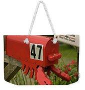 Sponge Bob's Mail Box  Weekender Tote Bag