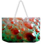 Spooky Bubbles Red Weekender Tote Bag