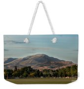 Sport Complex And The Butte Weekender Tote Bag