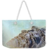 Spotted Auger Seashell Weekender Tote Bag by Betty LaRue