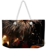 Spray Of Sparks Weekender Tote Bag