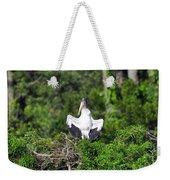 Spread Stork Weekender Tote Bag