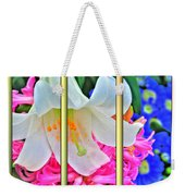 Spring Again Triptych Series Weekender Tote Bag