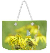 Spring Azure And Friend Weekender Tote Bag