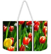 Spring Beauty Triptych Series Weekender Tote Bag
