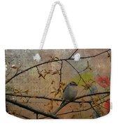 Spring Bird Weekender Tote Bag