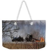 Spring Burning Of The Blueberry Fields Weekender Tote Bag