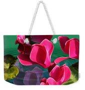 Spring Cyclamen Weekender Tote Bag
