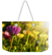 Spring Flower Weekender Tote Bag by Carlos Caetano