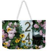 Spring Flowers And Fencepost Weekender Tote Bag