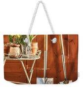 Spring Gardening Weekender Tote Bag by Amanda Elwell