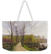 Spring Landscape Weekender Tote Bag